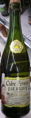 Cidre Fermier Doux - Product - fr