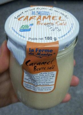 Yaourt Au Lait Du Jour Caramel beurre salé - Produit - fr