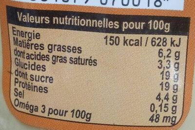 Yaourt Au Lait Du Jour Caramel beurre salé - Informations nutritionnelles - fr