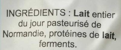 Nature - Ingrediënten - fr