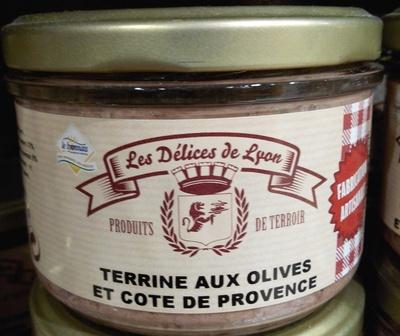 Terrine aux olives et cote de Provence - Produit - fr