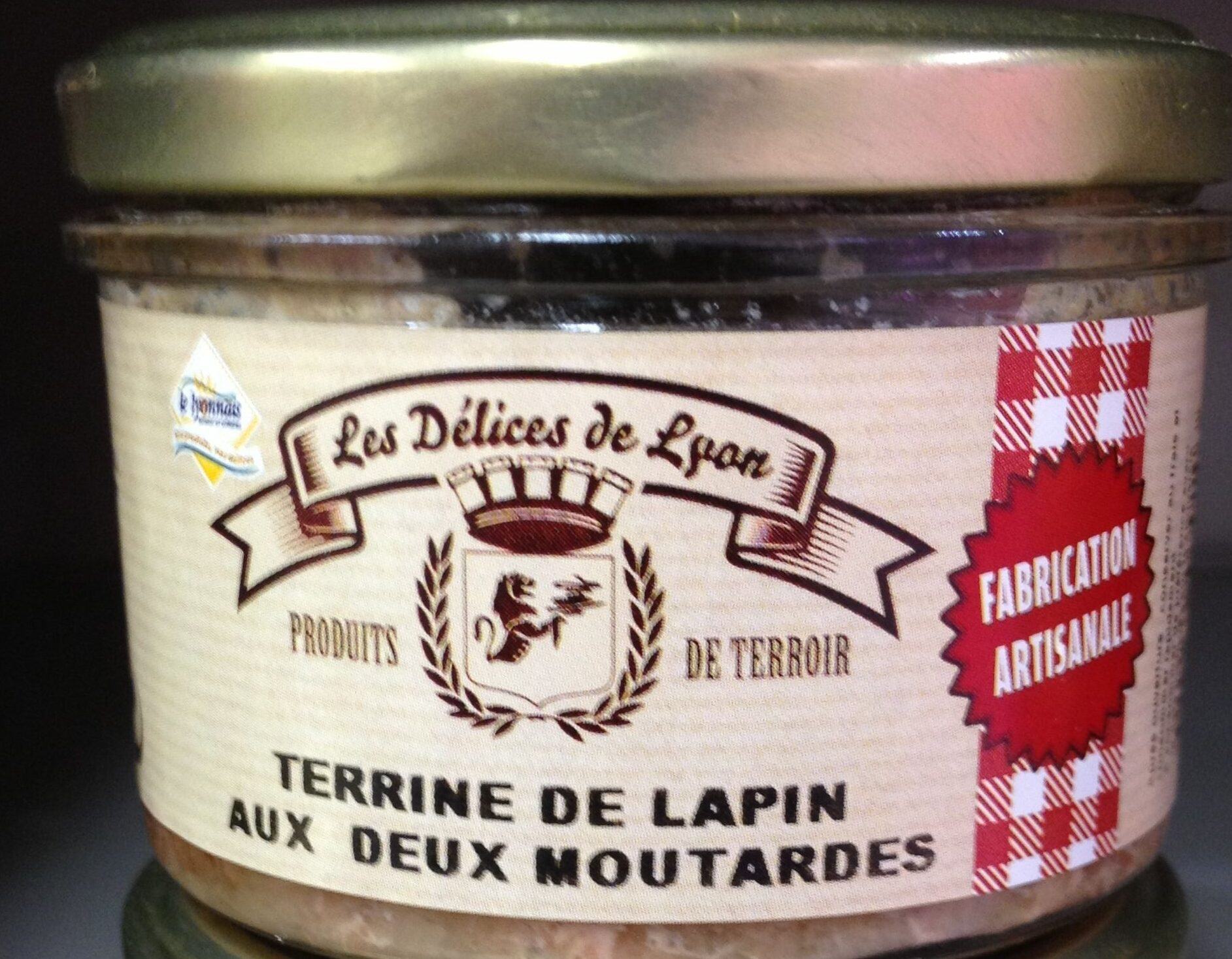 Terrine de lapin au deux moutardes - Product