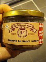 Terrine au saint Joseph - Produit - fr