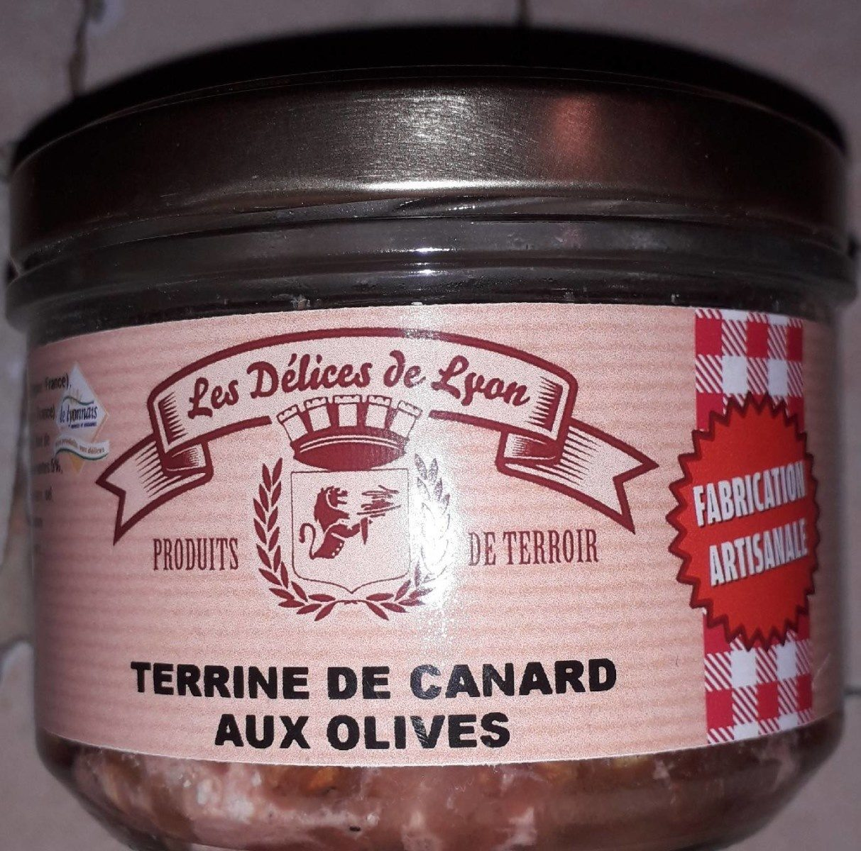 Terrine de canard aux olives - Product
