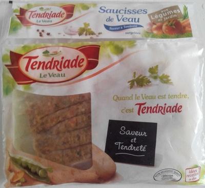 Saucisses de veau aux légumes du jardin - Produit - fr