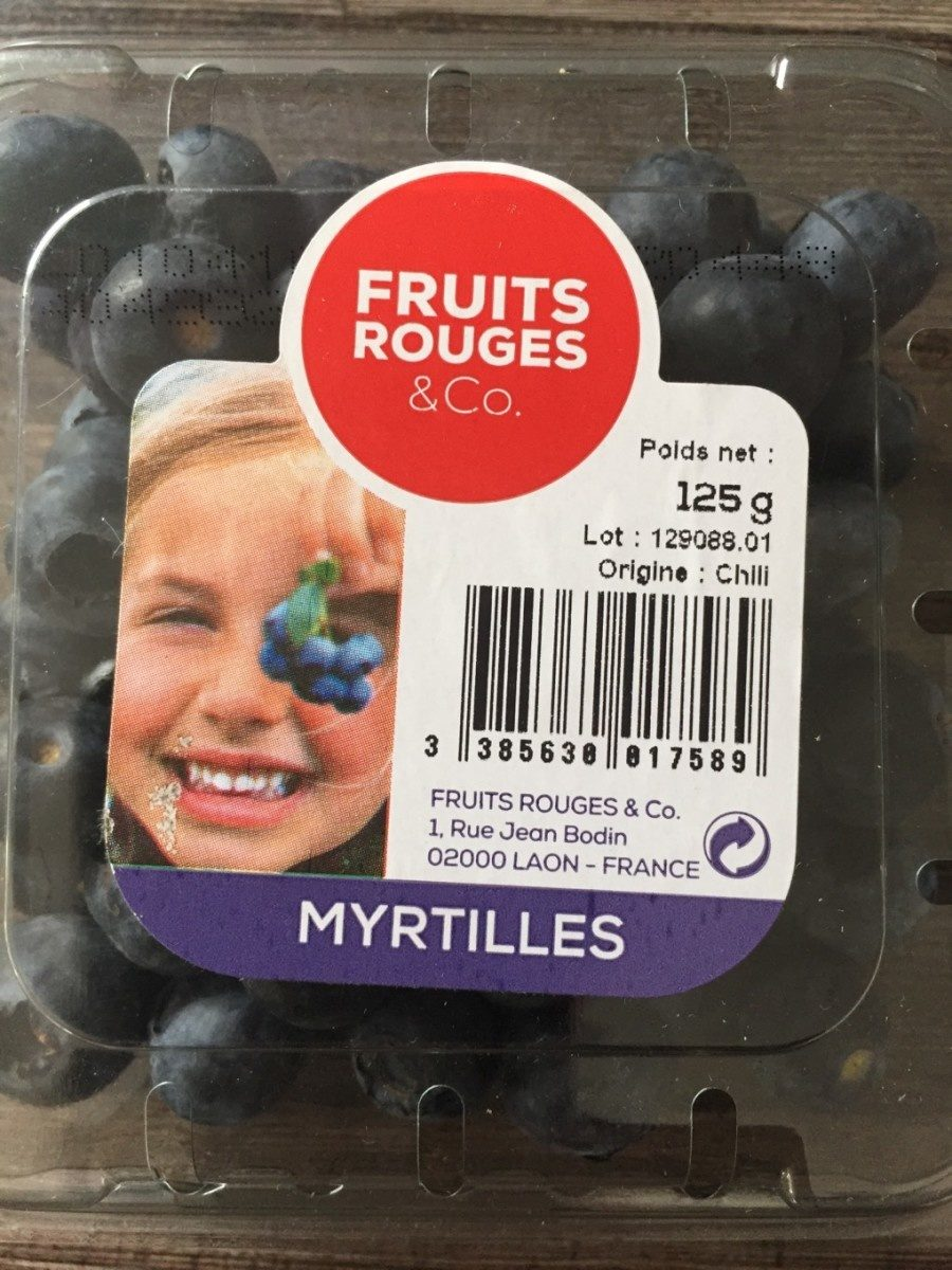 Myrtilles - Produit - fr
