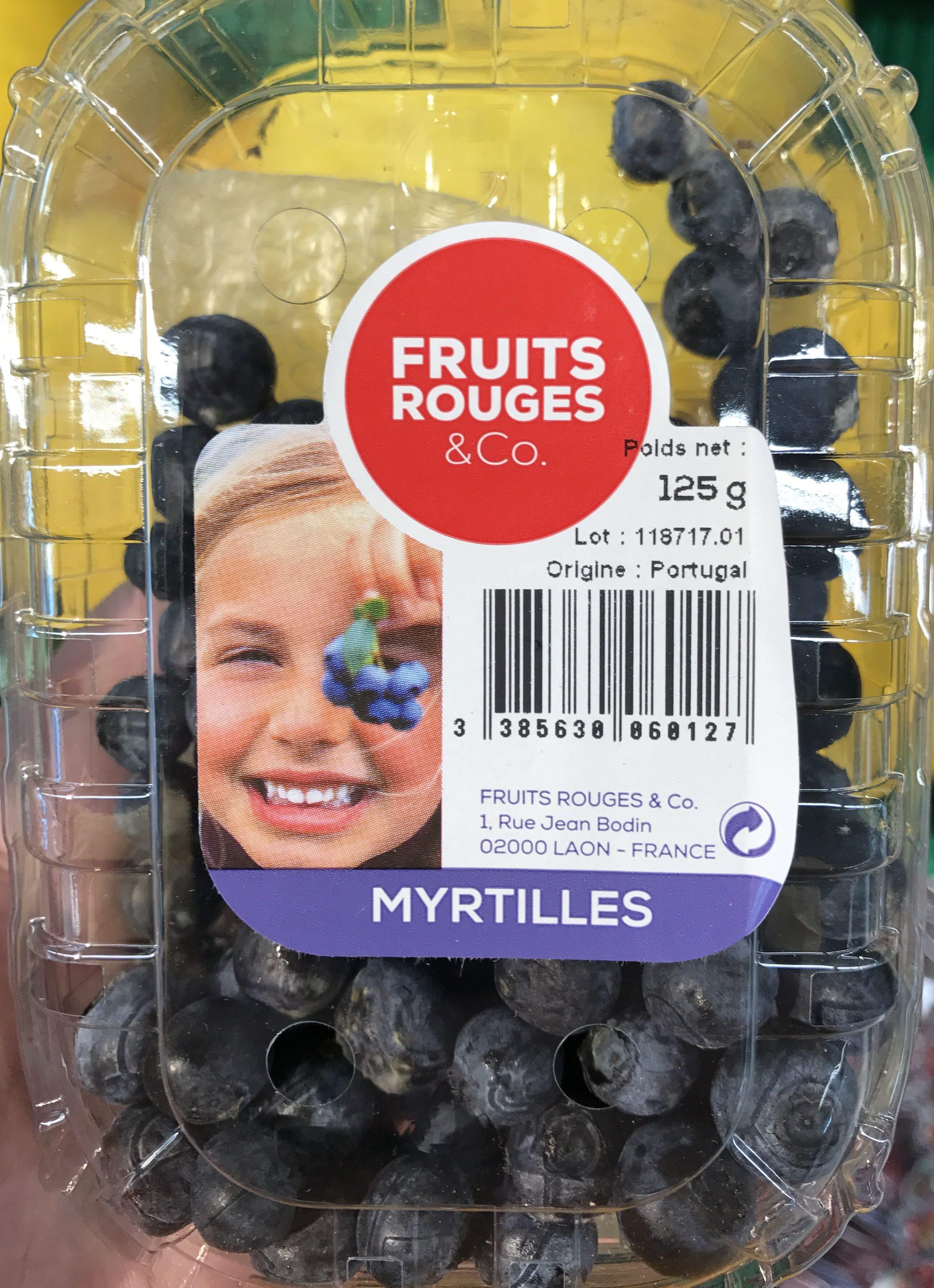 Myrtilles - Product