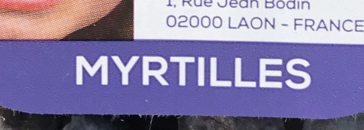 Myrtilles - Ingrediënten
