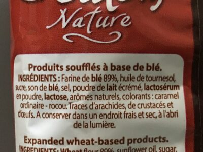 Croutons nature - Ingredients