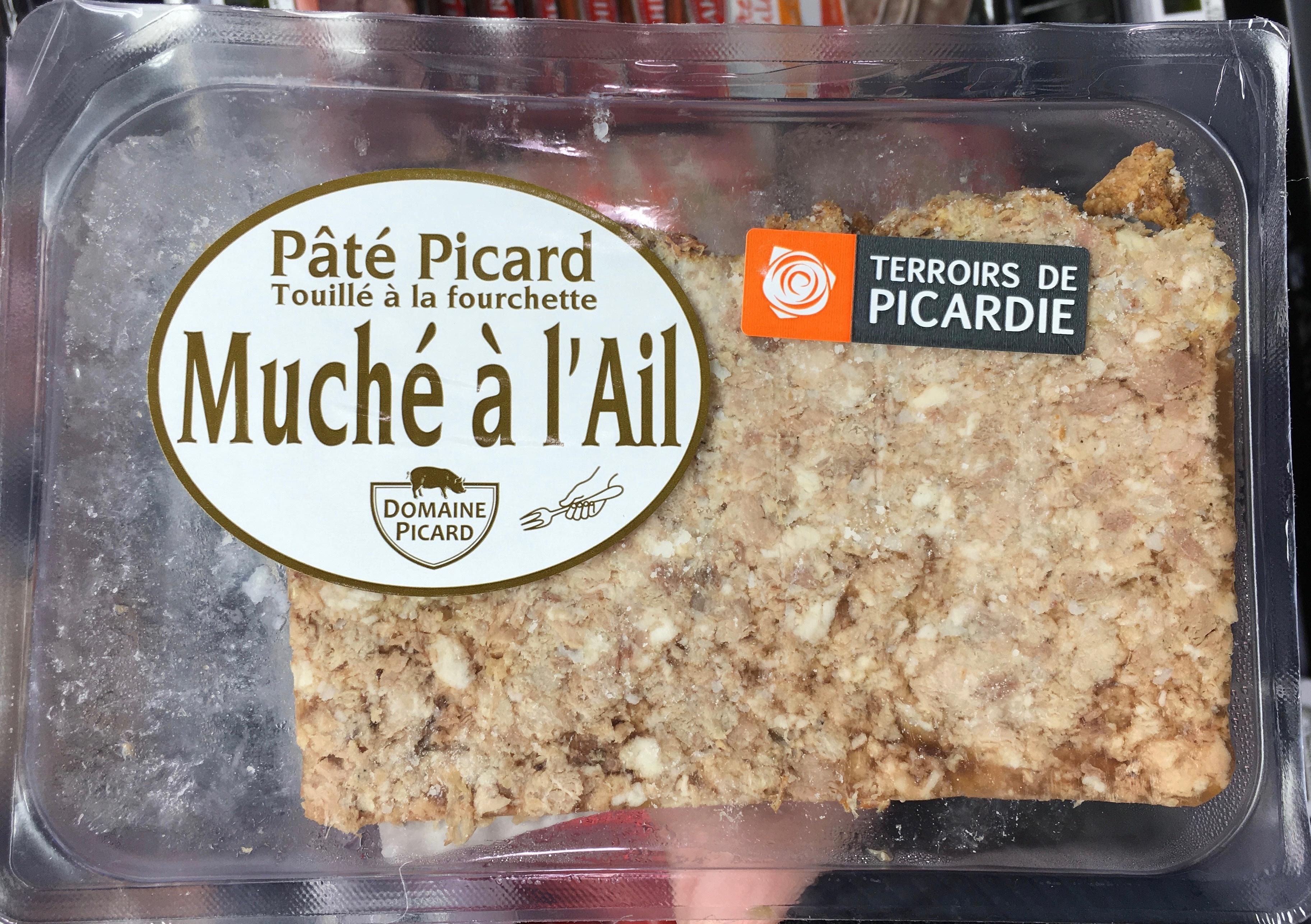 Pate Picard Muche A L Ail Domaine Picard 0 150 Kg