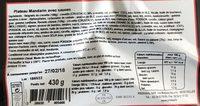 Beignets de crevettes - Ingredients