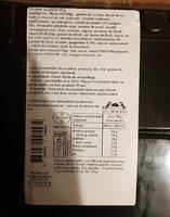 Nems au poulet avec sauces - Informations nutritionnelles - fr