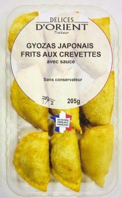 Gyozas japonais frits aux crevette avec sauce - Product - fr