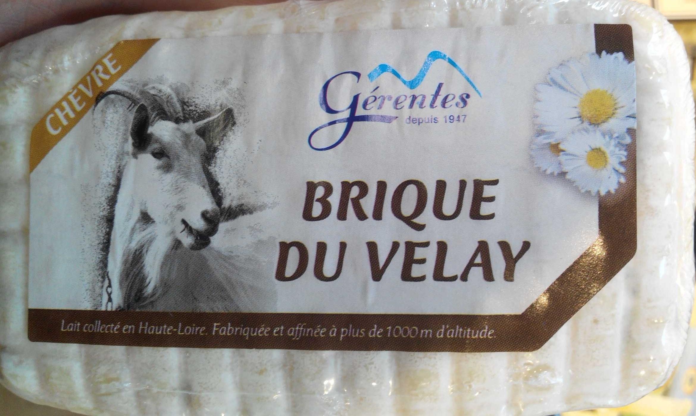 Brique du Velay (25 % MG) - Product