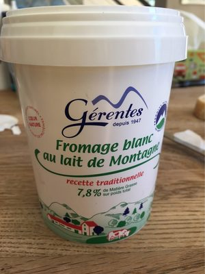 Fromage blanc au lait de montagne 7.8% M.G. - Product