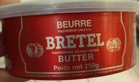 Beurre pasteurisé salé - Product