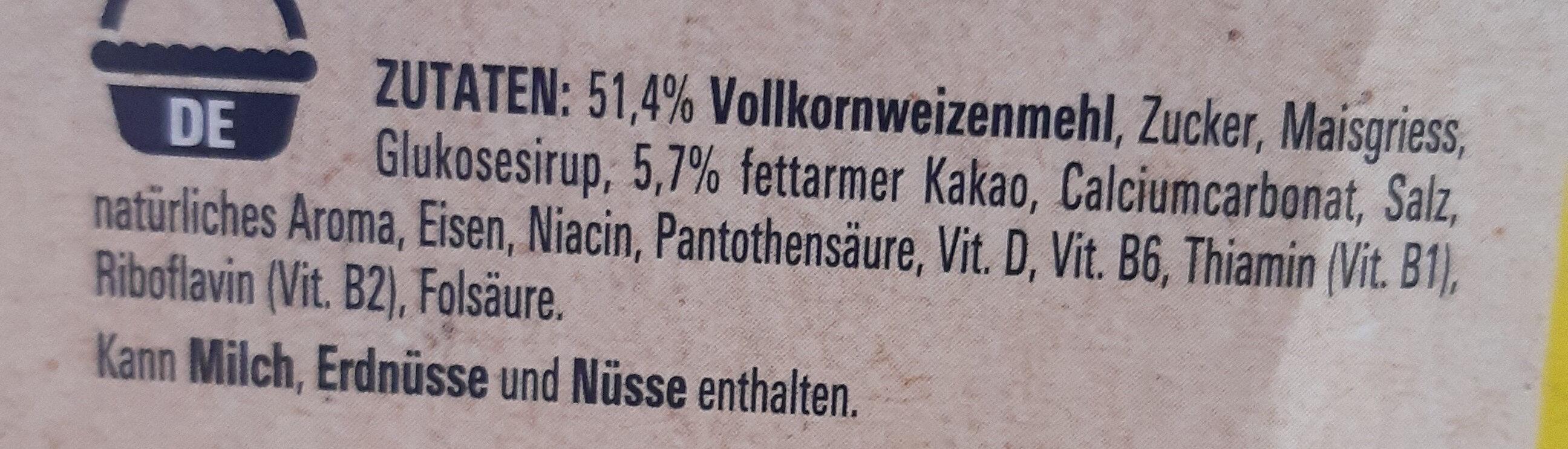 Nesquik - Ingredienti - de
