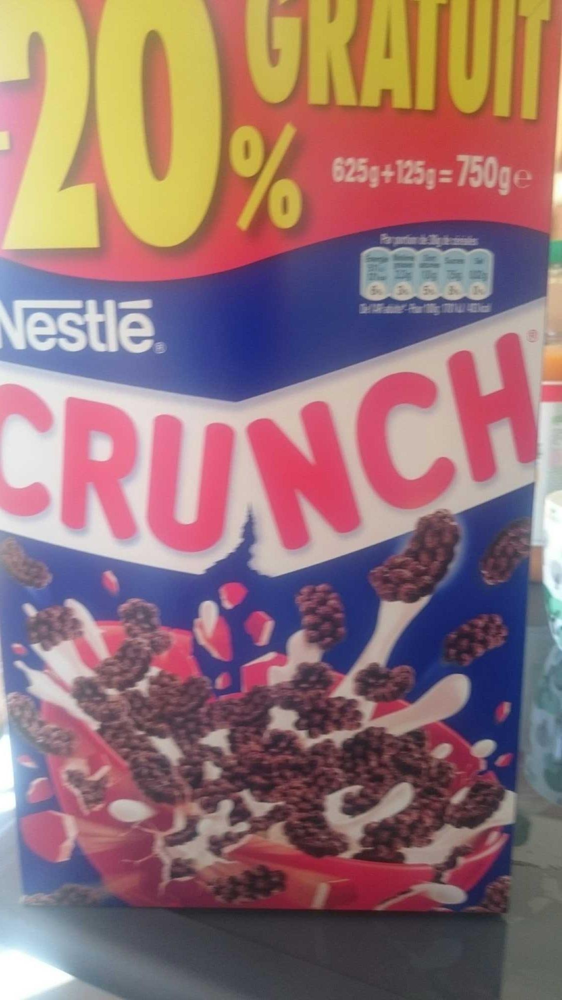 Crunch (20% gratuit) - Product - fr