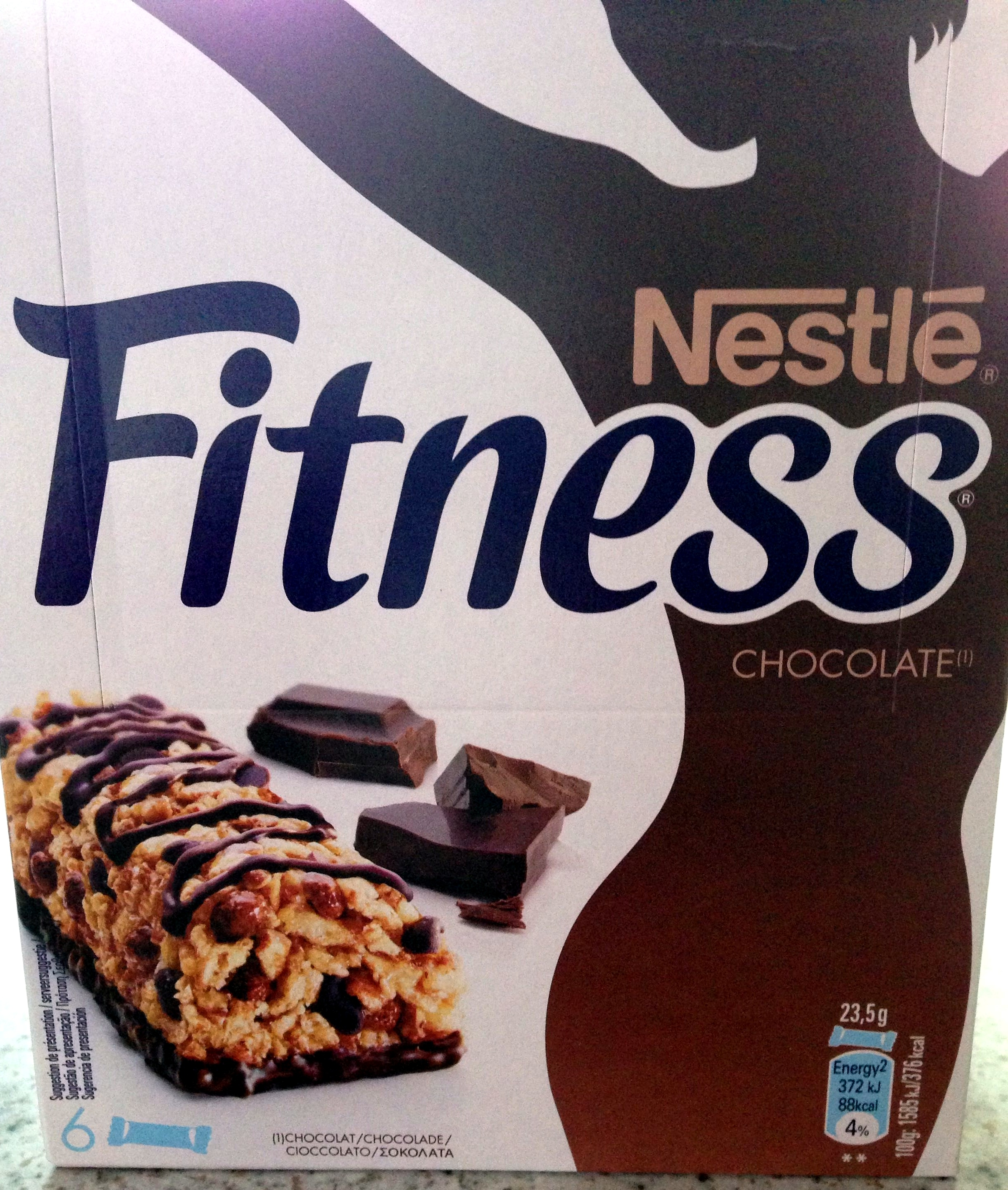 Barre de cereales Fitness Chocolat - Product - fr