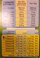 CRUNCH Céréales - Informations nutritionnelles - fr