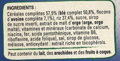 Fitness nature - Ingrediënten - fr