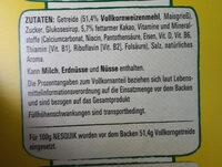 Nesquick Knusper Frühstück - Ingrediënten - de