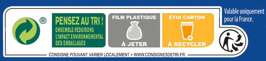 FITNESS Nature Céréales Petit Déjeuner - Recycling instructions and/or packaging information - fr
