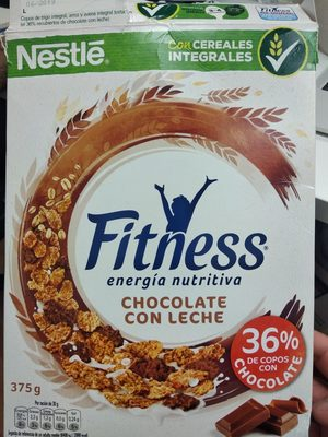 Fitness chocolate con leche - Product - es