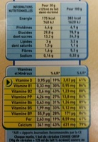 Cookie Crisp - Voedingswaarden