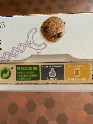 COOKIE CRISP Céréales - Recycling instructions and/or packaging information - fr