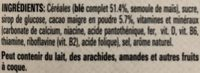 Nesquik - Ingrédients - fr