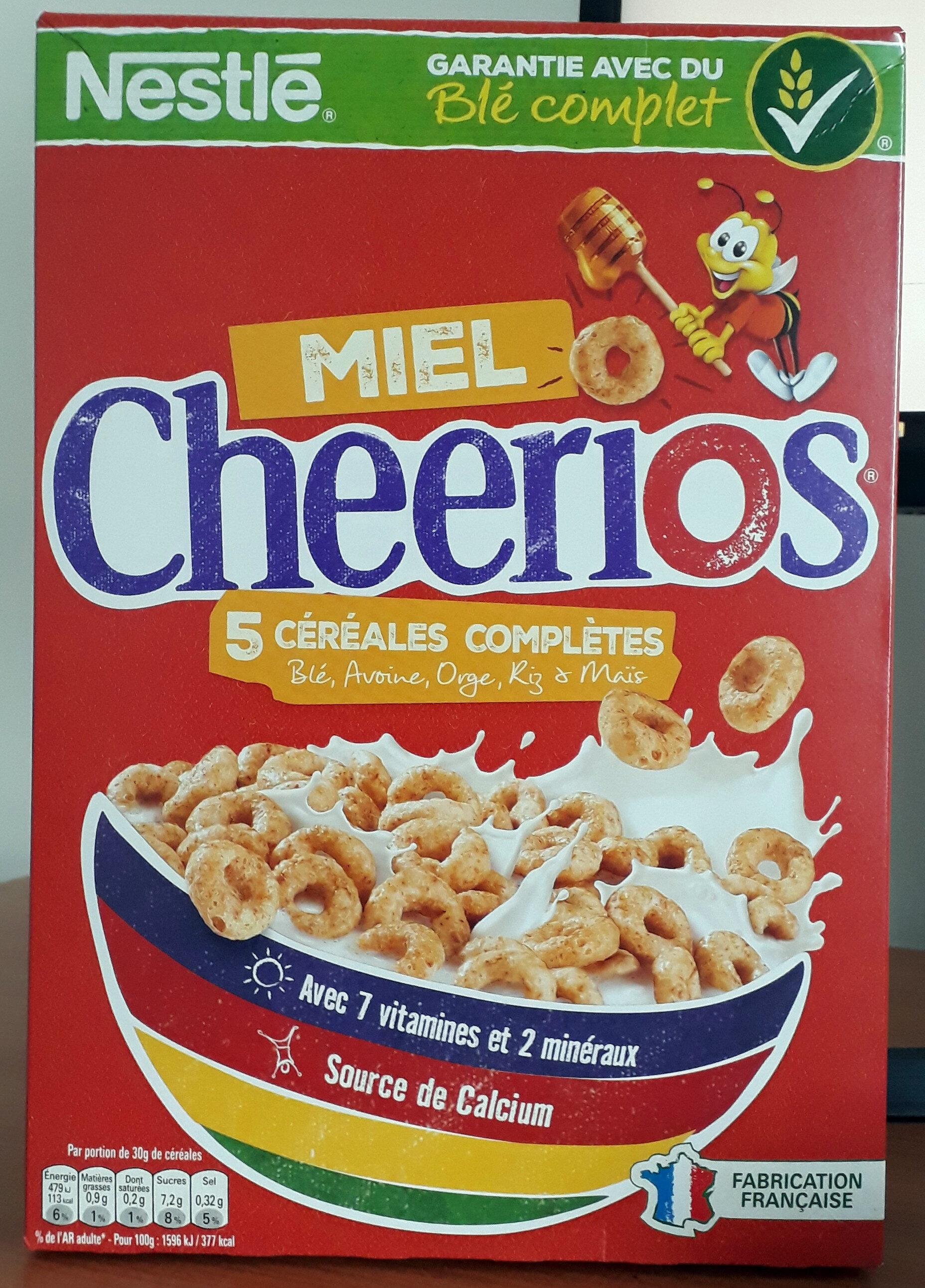 Cheerios miel et 5 Céréales complètes - Product