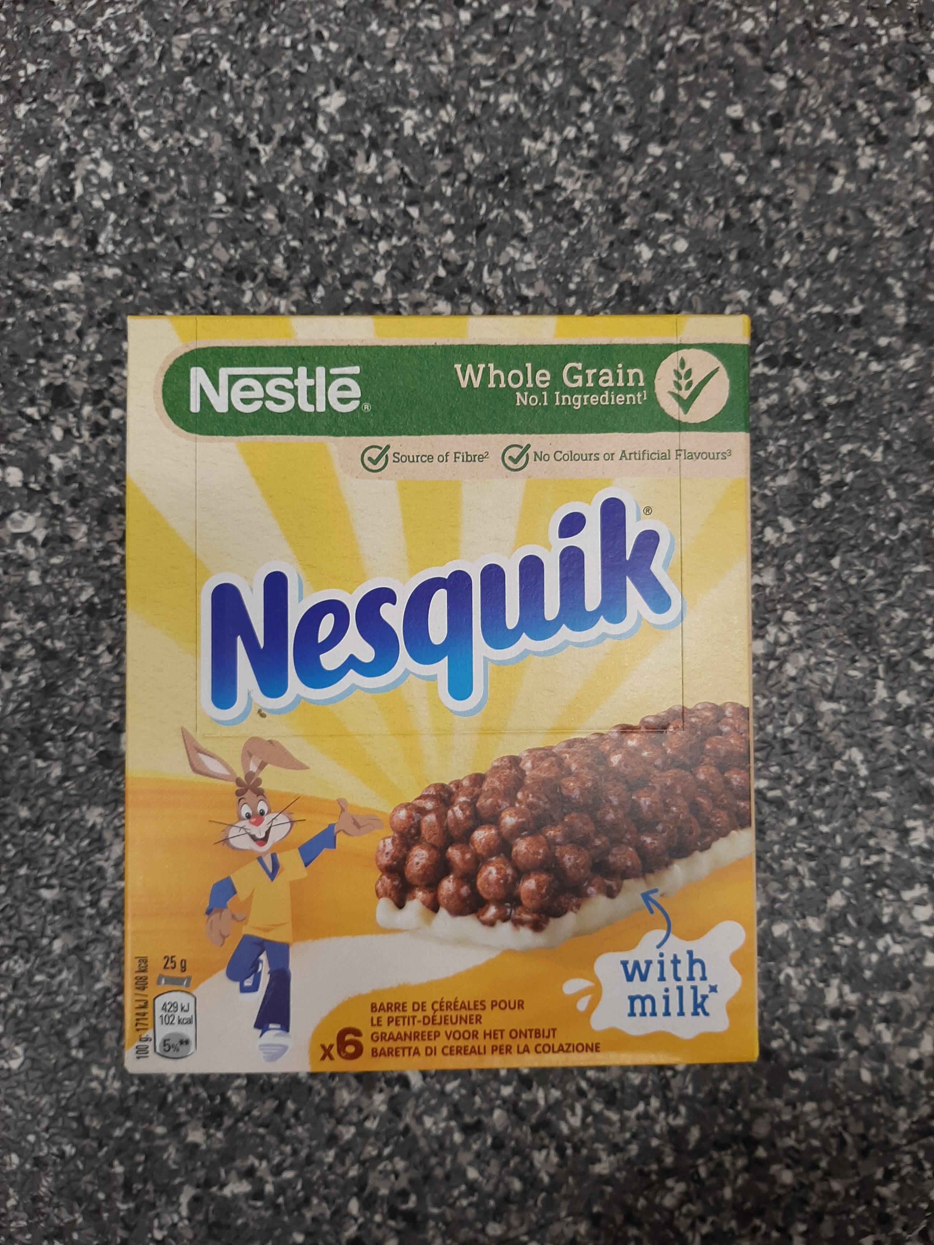 NESQUIK Barres de Céréales - Produto - fr