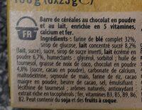 NESQUIK Barres de Céréales 6 x 25g - Ingredienti - fr