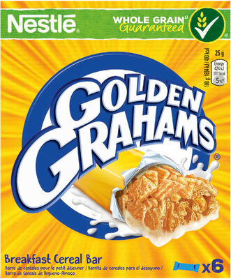 NESTLE GOLDEN GRAHAMS Barres de Céréales 6x25g - Prodotto - fr