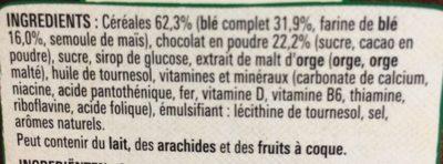 Chocapic - Ingrediënten - fr
