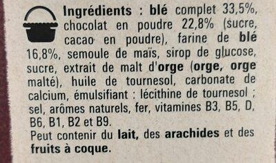 Chocapic - Ingrediënten