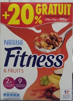 Fitness & fruits - Produit - fr