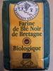 Farine de blé noir de Bretagne biologique - Produit