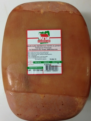 Epaule cuite standard - Produit