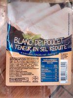 Blanc de poulet à teneur en sel réduite - Produit - fr