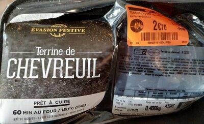 Terrine de chevreuil - Product - fr