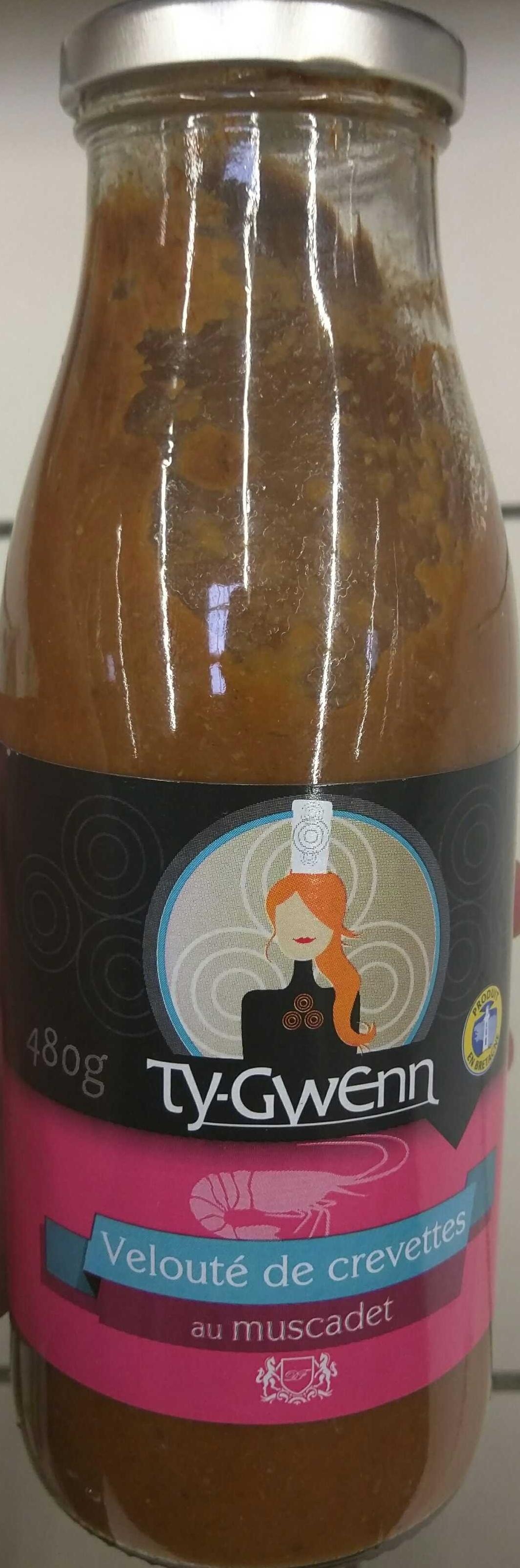 Velouté de crevettes au Muscadet - Produit