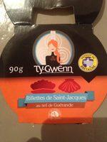 Rillettes de Saint-Jacques au sel de Guérande - Produkt - fr