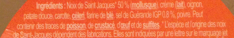 Rillettes de Saint-Jacques au sel de Guérande - Inhaltsstoffe - fr