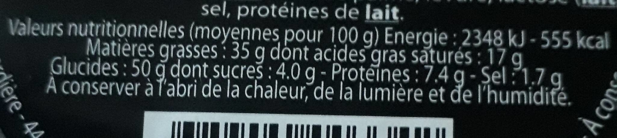 Croûtons - Nutrition facts - fr