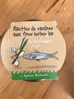 Rillettes de sardines au fines herbes bio - Produit
