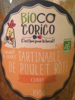 Tartinable de poulet rôti curry - Product - fr