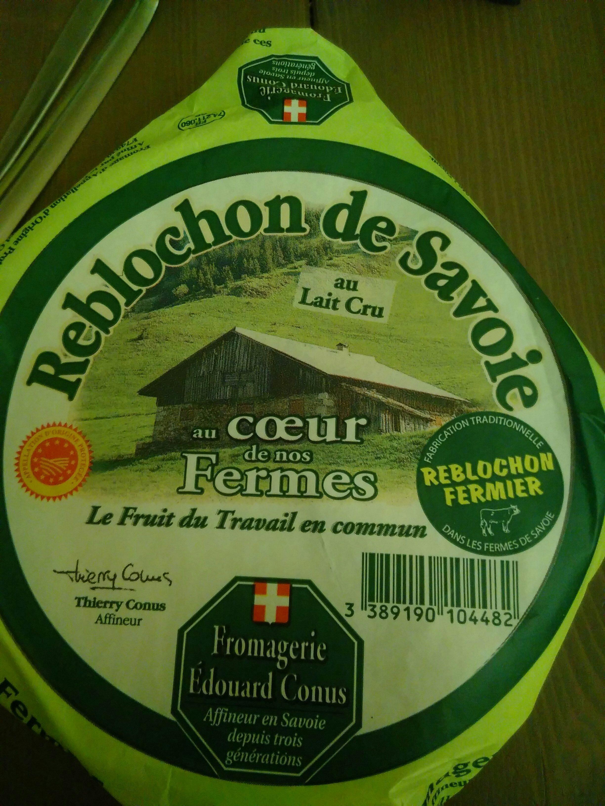Reblochon de Savoie - Product - en