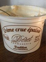 Crème crue épaisse - Product - fr